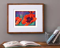 colorful art print etsy