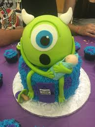 monsters inc baby shower ideas monsters inc baby shower cake by lavish baby shower