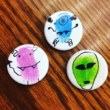 makerspace thumbprint art buttons u2014 tlt16 teen librarian toolbox