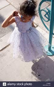 child kid dance beauty little blue african american dress