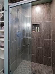Bathroom Floor Master Bath Ideas Mixed Quartz Mini Stone Subway Tile Shower