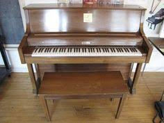 Baldwin Piano Bench - baldwin acrosonic cherry cabinet spinet piano w lift top piano