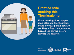 what is open on thanksgiving cooking fire safety outreach materials