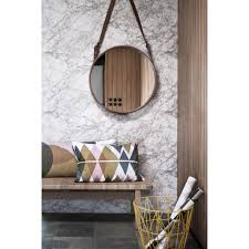 Grey Wallpaper Living Room Uk Ferm Living Marble Wallpaper Grey