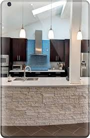 modern kitchen with brown cabinets tpu shockproof dirt proof modern kitchen with