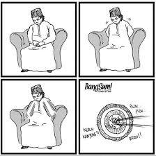 Meme Komic - nggak cuma meme komik strip juga ikutan sindir kocak dimas kanjeng