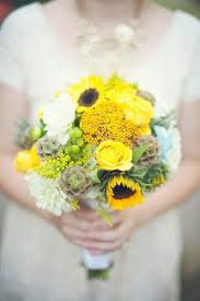 Sunflower Wedding Bouquet Sunflower Wedding Flowers Photos Sunflower Wedding Flowers