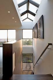 Wall Mounted Handrail Wall Mounted Handrail Staircase Modern With Ceiling Lighting Dark