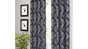 Striped Living Room Curtains by Intriguing Picture Of Worthy Long Cream Curtains In Preparedness