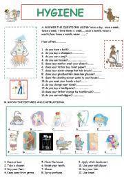 printable hygiene activity sheets english worksheet hygiene life skill2 pinterest worksheets