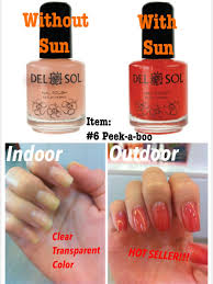 offer delsol color changing nail polish award winning beauty