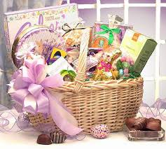 easter gift basket deluxe easter gift basket easter gift baskets