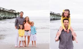 Myrtle Beach Family Photography Beach Fun Family Portraits With Colorful At Myrtle Beach State Park