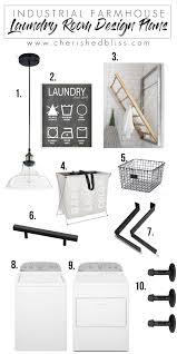 laundry room design plans industrial farmhouse laundry room design