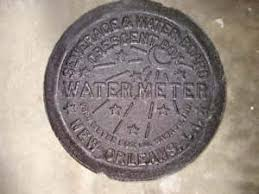 new orleans water meter cover new orleans la quarter real nola cast iron water meter box