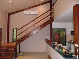 stairs wooden stair rail height right planning to build stair