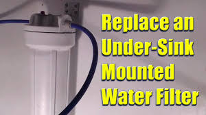 how to install under sink water filter replace a whirlpool model no whkf dwh under sink mounted water