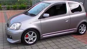 2003 toyota yaris vitz rs trd turbo flatoutimports com youtube