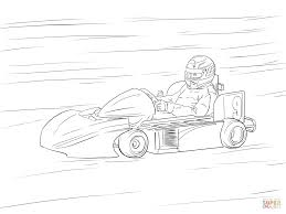 go kart coloring page free printable coloring pages