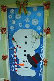 Classroom Door Christmas Decorations Backyards Door Decoration Ideas Design For Christmas