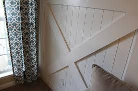 Meaning Of Wainscoting Diy Barn Door Wainscoting Tutorial Remodelaholic Bloglovin U0027