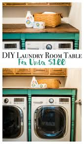 diy an oversized table for the laundry room for under 100 major