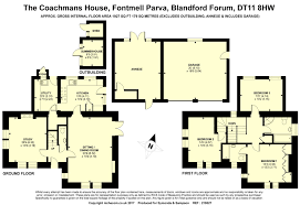 3 bed detached house for sale in fontmell parva blandford forum