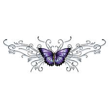 lower back butterfly temporary goimprints