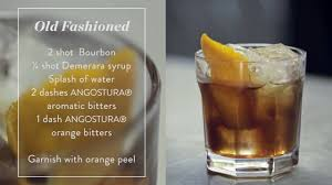 old fashioned cocktail how to make an old fashioned cocktail recipe presented by the