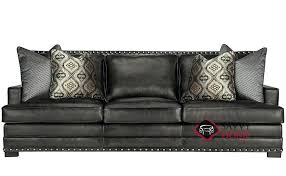 Leather Sofa With Chaise Bernhardt Leather Sofa Sectional Cross Jerseys