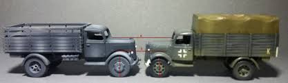 opel blitz maultier review plastic soldier company german medium trucks by eduard