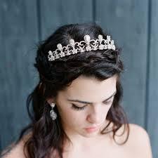 wedding crowns bridal tiara tiara hermione swarovski bridal tiara