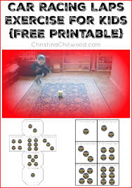 free car printables montessori inspired car activities