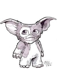 gremlins coloring pages gizmo from
