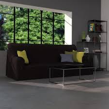 housse canapé noir housse canapé en coton noir housse de canapé et de fauteuil la