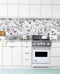 wallpaper for kitchen backsplash kitchen amazing wallpaper for kitchen backsplash splash proof