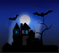 illustration of a haunted house free stock photo pictures