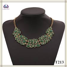 ladies necklace designs images Colourful bead factory fashion new model chokers pendant gold jpg