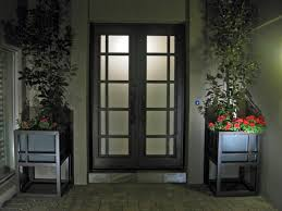 Front Door Planters by Custom Front Door And Planters Modern Entrance Phoenix By