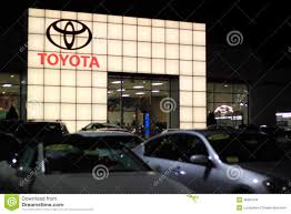 toyota dealership toyota dealership showroom editorial photo image 38364136