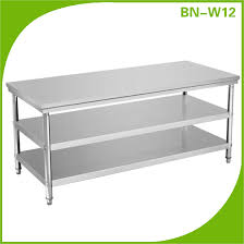 Stainless Steel Prep Table Enchanting Commercial Kitchen - Commercial kitchen stainless steel tables