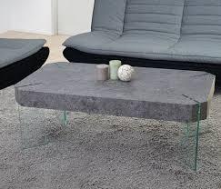 Xxl Wohnzimmer Tisch Kos T578 Wohnzimmertisch Fsc 40x110x60cm Beton Optik Glas Füße