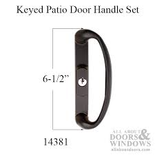 Keyed Patio Door Handle Patio Door Handle Sonoma Active Keyed Entry Sliding Door Black