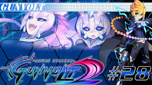merak gunvolt let u0027s play azure striker gunvolt 2 episode 28 sumeragi dlc