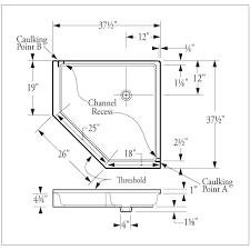 dimensions corner shower google search basement project
