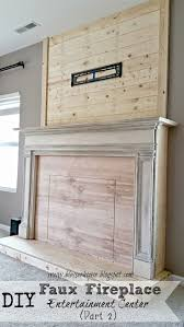 The Budget Decorator by Interesting Design Faux Fireplace Surround Diy The Budget
