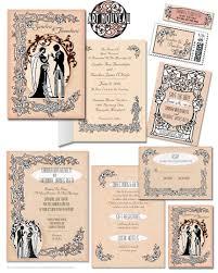Vintage Wedding Invitation Cards 1900s Wedding Invitations Art Nouveau Wedding Invitations