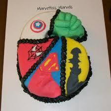 superhero number 6 cake birthdaycake superhero thehulk