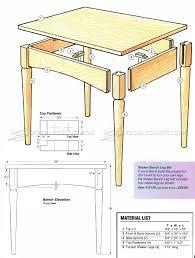 shaker end table plans shaker end table plans bench innovative shaker end table plans