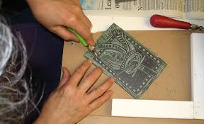 lino block printing u2013 time to be inspired
